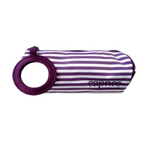 striped-satine-bSTRIPED SATINE BAG WITH MIRROR